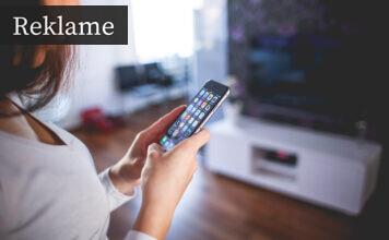 Mobilen benyttes til flere ting i hjemmet